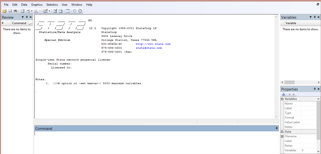 Stata-GUI-Interface